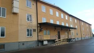 Entrén på Arkivcentrum Arboga