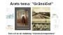 Affisch om utställning i Fagersta biblioteksfönster på årets tema Gränslöst