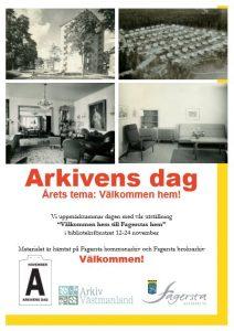 Arkivens Dag-affisch Fagersta