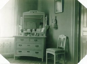 Bild från hem på Annedal. Ur Byggnadsföreningen Annedals arkiv.