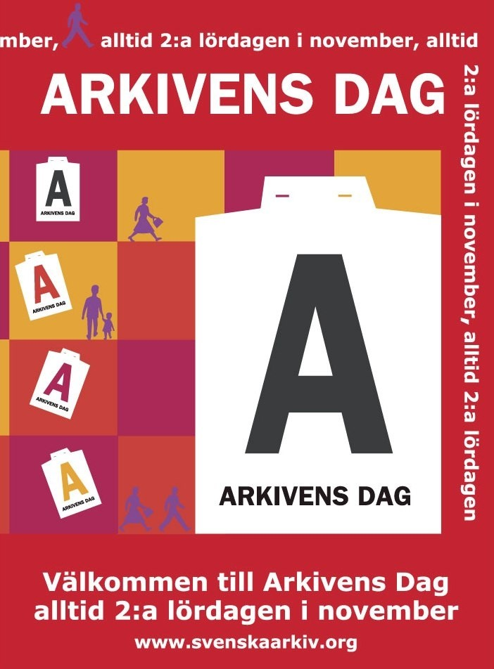 Arkivens Dags nationella affisch